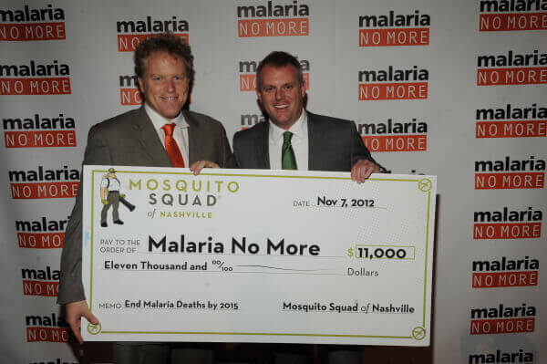 $11,000 Check for Malaria No More