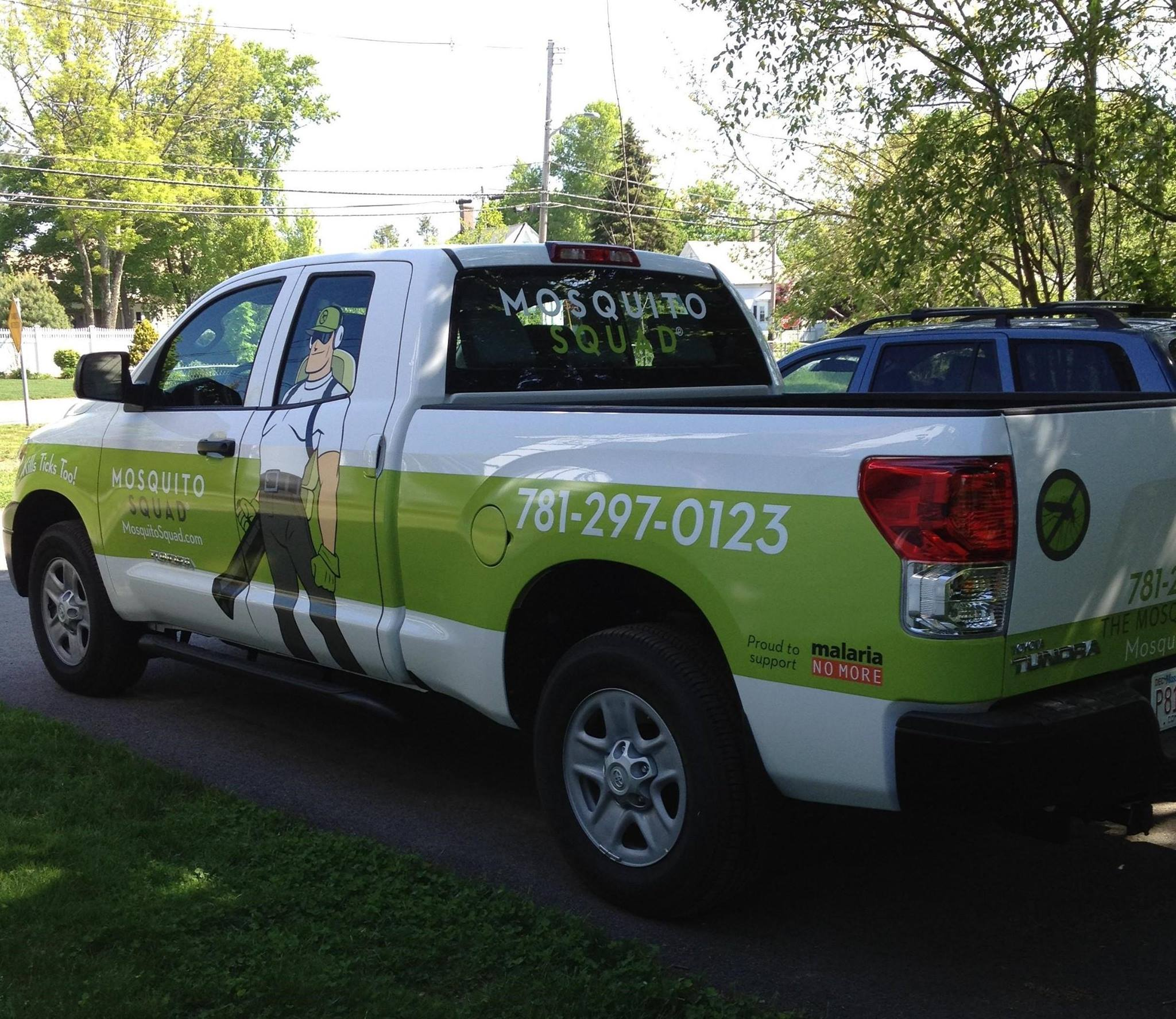 Mosquito Squad Truck - Call Today