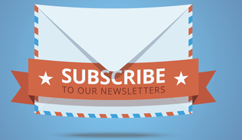 Sign up for newsletter infographic