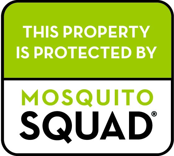 This Property is protected by mosquito squad.