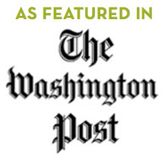 As featured in the washington post logo