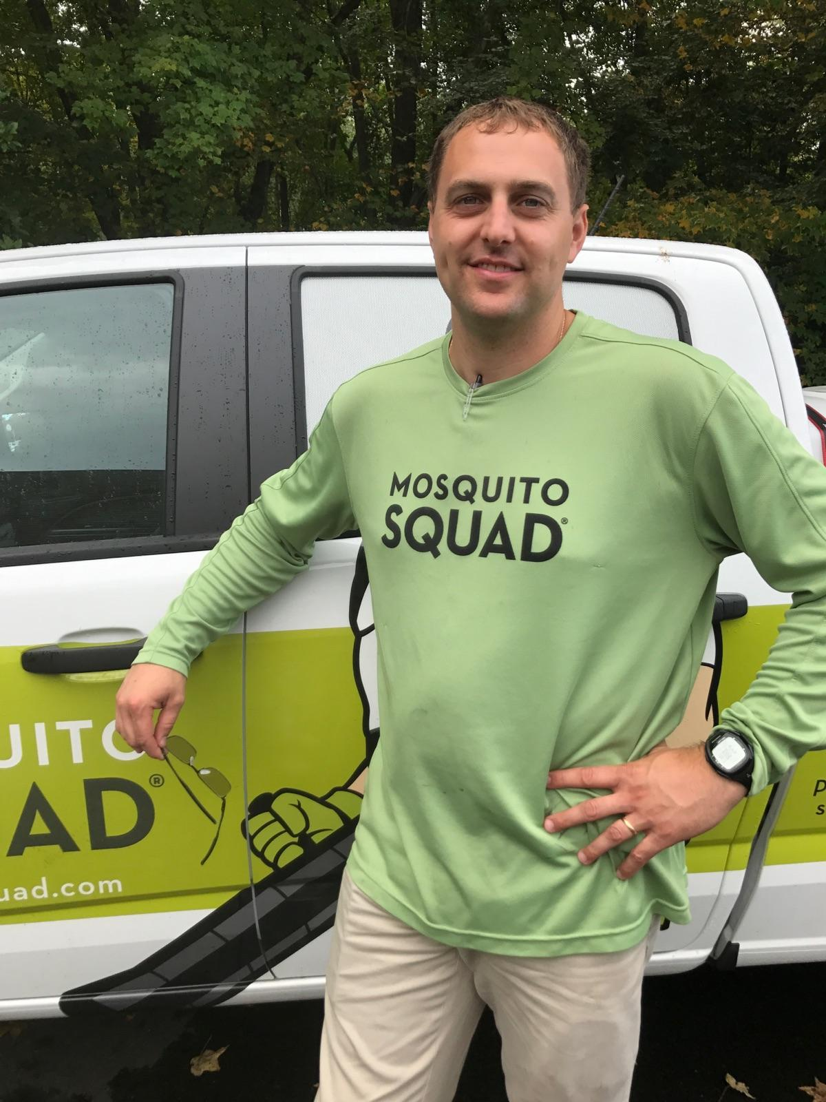 One of our employees at Mosquito Squad of Hartford-Springfield