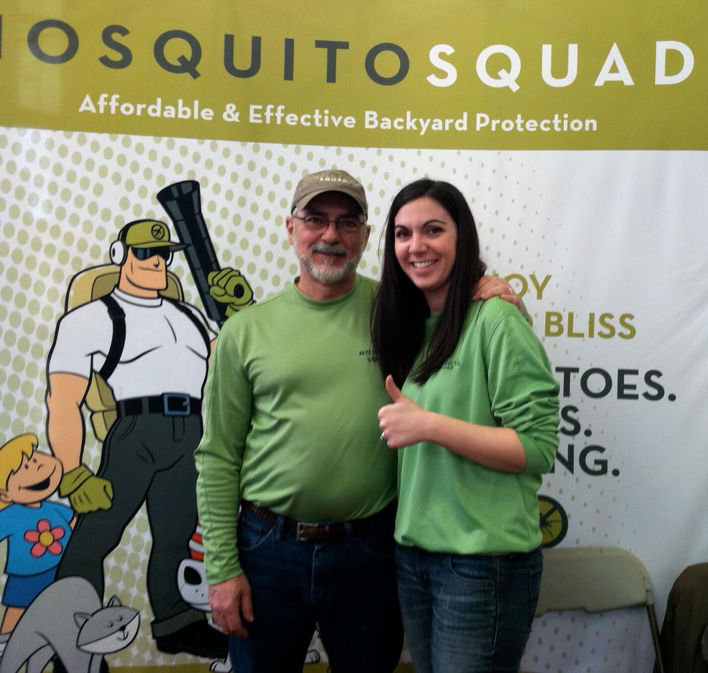 Owners of Mosquito Squad of Southeastern Mass.